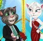 Angela e Tom noivado