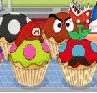 Cupcakes do Super Mario
