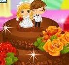 Decorar bolo de chocolate do casamento