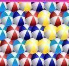 Atirar bolas coloridas