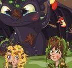 Cuidar dos personagens do filme Como Treinar seu Dragão