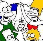 Colorir desenho dos Simpsons