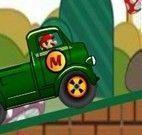 Mario dirigir caminhão