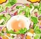 Preparar salada de alface