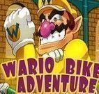 Aventura de bike com Mario
