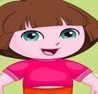 Dora no ateliê