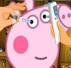 Cuidar dos olhos da Peppa Pig