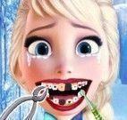 Elsa Frozen no dentista