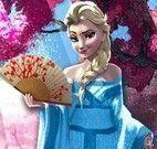 Elsa viagem ao Japão