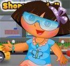 Vestir Dora para ir ao shopping