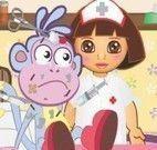 Enfermeira Dora cuidar do Botas
