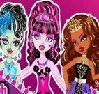 Vestir princesas Monster High