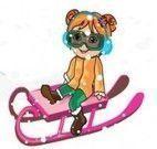 Vestir criança para esquiar