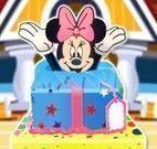 Decorar bolo da Minnie