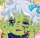 Elsa babá do bebê zumbi