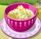 Fazer salada de batata