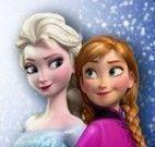 Colorir ovos Anna e Elsa