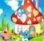 Decorar a casa do Smurfs