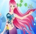 Vestir a sereia para nadar