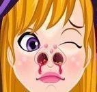 Bruxinha nariz machucado