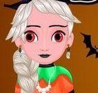 Elsa fantasia de Halloween