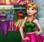 Anna roupas da promoção
