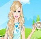 Barbie roupas para chá da tarde