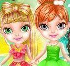 Bebê Barbie transformação fada