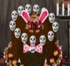 Decoração de bolo para Monster High