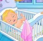 Cuidar do bebê da Elsa