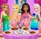 Princesas decorar mesa de refeição