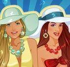 Vestir meninas no cruzeiro