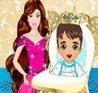 Cuidar do príncipe bebê