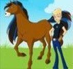 Fazer um cenário do cavalo