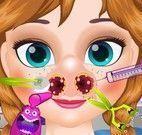 Anna cuidar do nariz