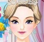 Princesa noiva no spa
