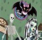 Decorar cenário das Monster High