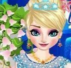 Maquiar e vestir noiva Elsa