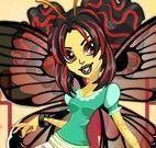 Vestir roupas Luna Monster High