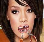Rihanna no dentista