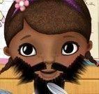 Doutora Brinquedos fazer a barba