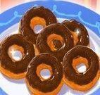 Receita de donuts coberto com chocolate