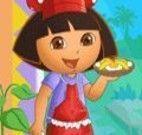 Vestir Dora a cozinheira