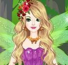 Vestir fada da floresta