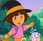 Dora quebra cabeça do Halloween