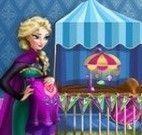 Decoração do quarto da bebê Elsa
