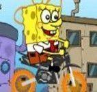 Bob esponja bicicleta