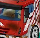 Lavar carros de emergência