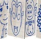 Desenhar na folha de papel