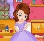 Limpeza do quarto da Princesa Sofia